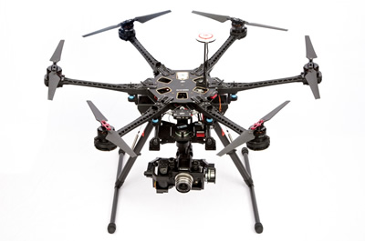 DJI S800 Evo Hexacopter